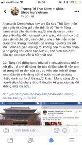 Bài viết của hoa hậu Trương Tri Trúc Diễm về tên lừa đảo bán chó Shiba nhập khẩu Vũ Thanh Tùng