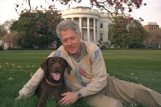 Và Tổng thống Mỹ Bill Clinton