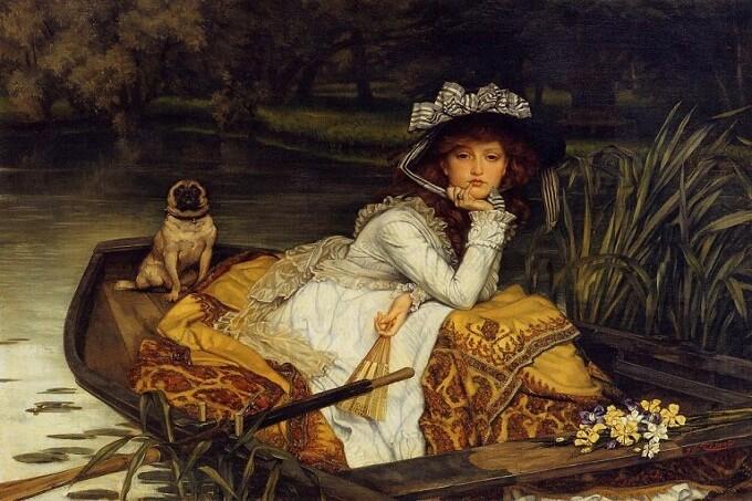 Một_tác_phẩm_khác_về_chó_Pug_của_danh_họa_Goya