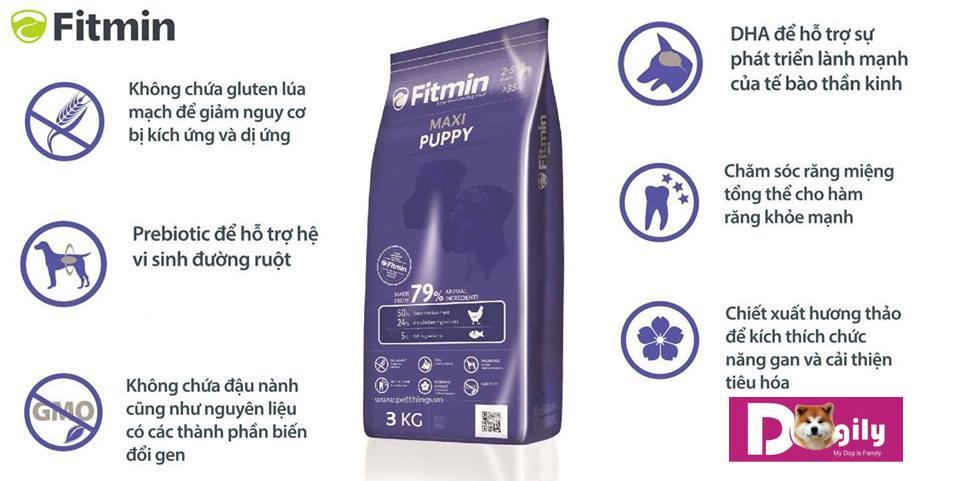 Những lợi ích khi sử dụng các sản phẩm Fitmin Maxi