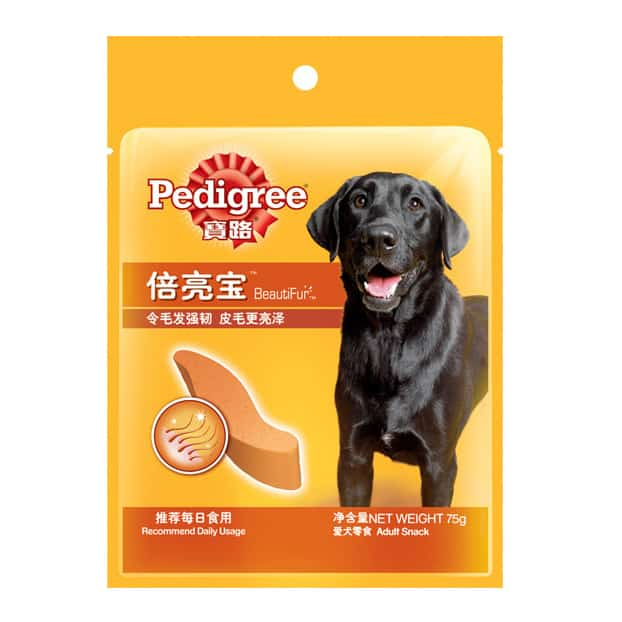 Bánh thưởng cho chó – Pedigree BeautiFur Adult Snack