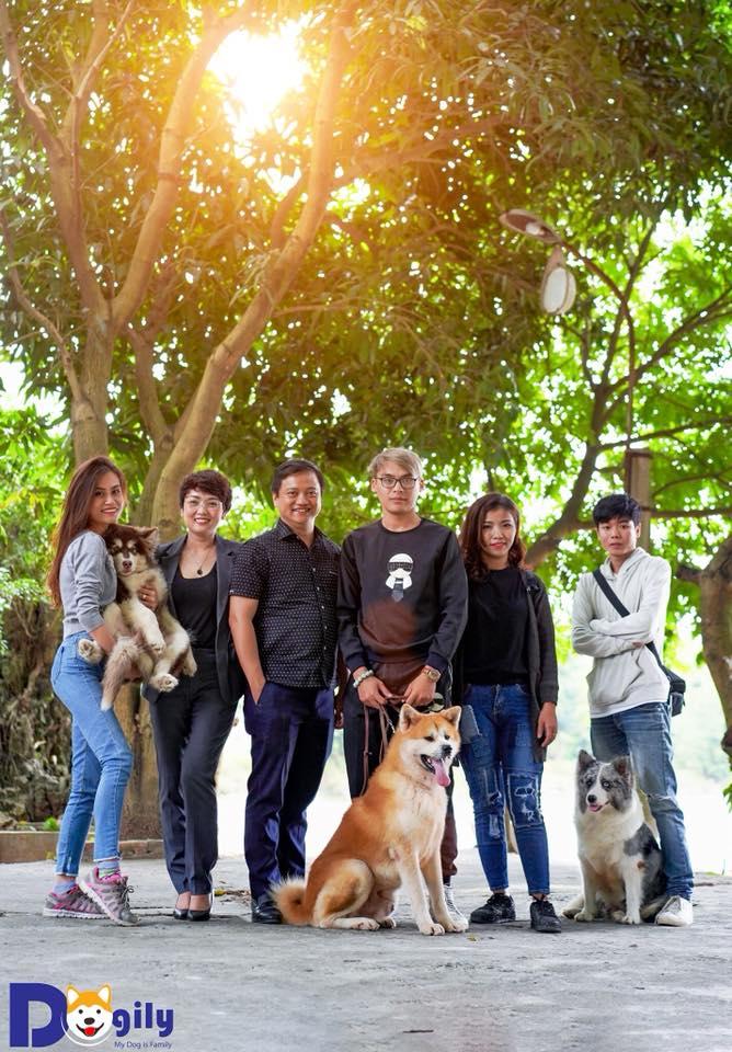 Dogily - Gia đình cún cưng. Chúng tôi sở hữu hệ thống Trang trại Dogily Kennell, chuỗi các cửa hàng bán cún cưng và phụ kiện Dogily Petshop và kênh truyền thông Dogily Social.