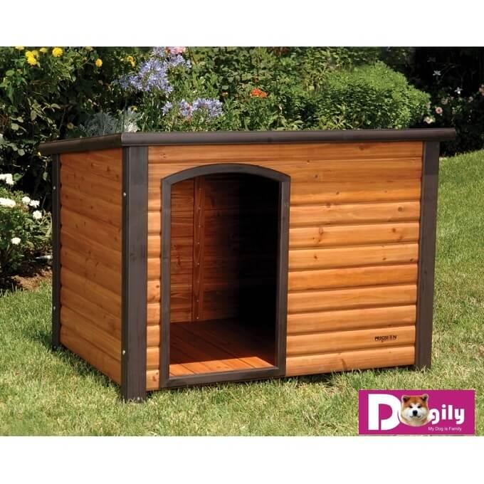 Một mẫu chuồng gỗ cho chó đơn giản phù hợp với các dòng chó có kích thước lớn như Akita Inu, labrador, Golden Retriever