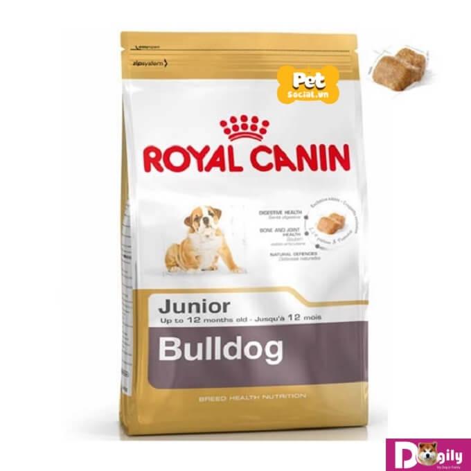 Hạt royal canin cho chó con ăn khỏe chóng lớn