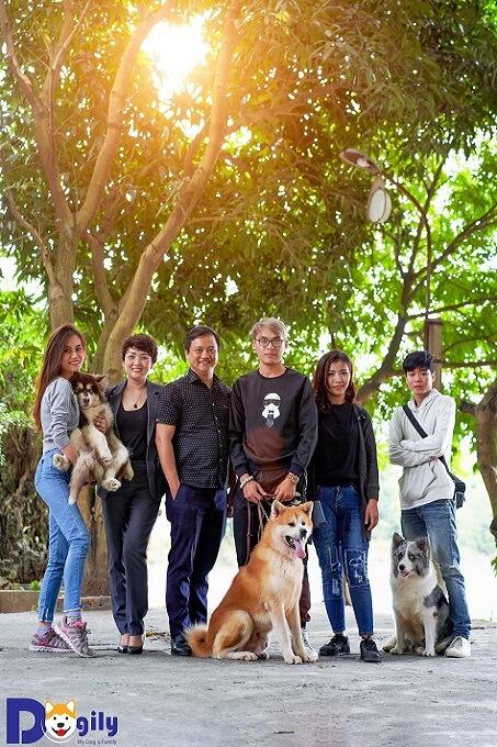 Hình ảnh đội ngũ nhân sự của Dogily Petshop