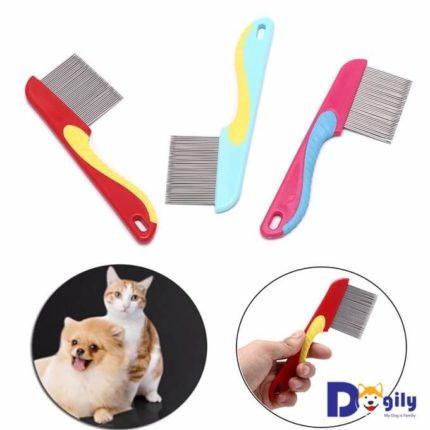 Lược chải lông cho chó mèo là vật dụng không thể thiếu của bất kỳ người nuôi thú cưng nào.