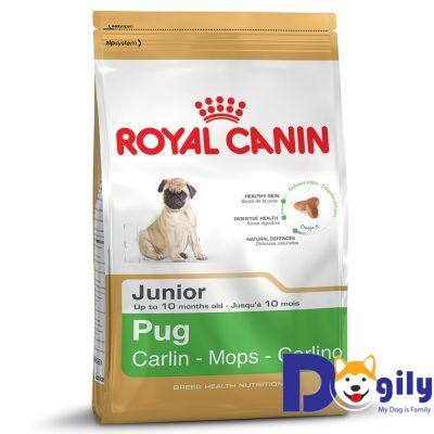 Thức ăn cho chó Royal Canin Junior Pug 500g