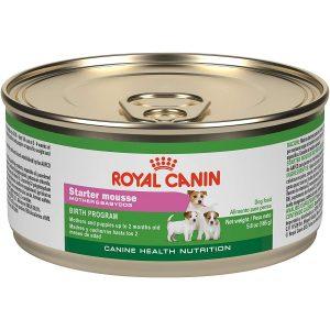 ROYAL CANIN ướt được thiết kế dựa trên nhu cầu của giống chó nhỏ từ lúc nhỏ đến khi trưởng thành. Được sử dụng kèm với hạt thức ăn khô ROYAL CANIN MINI STARTER, cả hai loại sẽ kết hợp thành một bữa ăn hoàn chỉnh về dưỡng chất, giúp các chú chó khỏe mạnh từ trong ra ngoài.