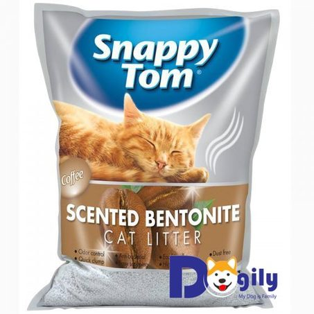 Cát vệ sinh cho mèo Snappy Tom hương cà phê