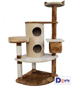 Nhà cây cho mèo cấu tạo đẹp