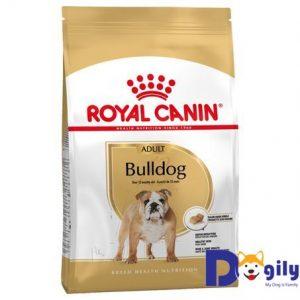 ROYAL CANIN BULLDOG ADULT Sản phẩm dinh dưỡng dành riêng cho giống chó Bulldog với hình dáng hạt được thiết kế đặc biệt dành riêng cho giống chó này.
