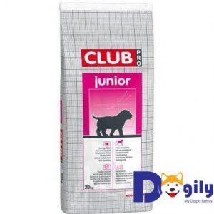 ROYAL CANIN CLUB PRO JUNIOR Thức ăn cho chó ROYAL CANIN Club Pro Junior dành cho chó con từ 2 đến 12 tháng tuổi, không phân biệt giống chó và kích cỡ.