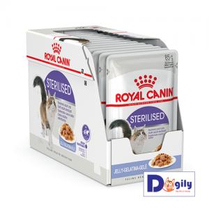 Tác dụng của Thức ăn dạng ướt Royal Canin Sterilised Wet Sản phẩm dành riêng cho mèo triệt sản trên 12 tháng tuổi Giúp duy trì trọng lượng lý tưởng