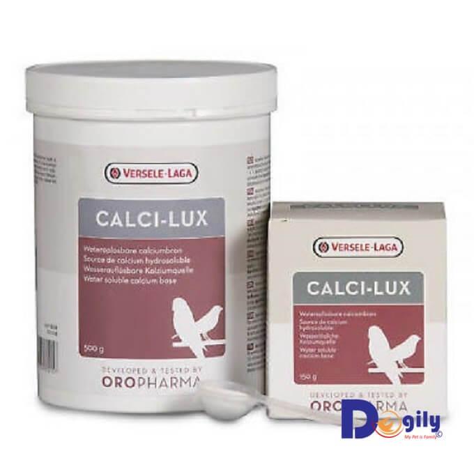 Oropharma Calci-Lux có nguồn canxi hòa tan trong nước