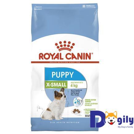 THỨC ĂN CHO CHÓ ROYAL CANIN X – SMALL PUPPY 500g