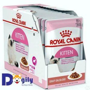 Thức ăn royal canin kitten instinctive là thức ăn dạng ướt cung cấp bổ sung chất dinh dưỡng cho bé cưng