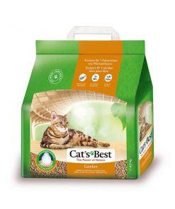 Cat's Best Comfort không vón cục, có khả năng thấm hút lượng chất lỏng gấp 3 lần thể tích cát, là giải pháp hoàn hảo để thay thế cho cát vệ sinh làm từ khoáng và silica.