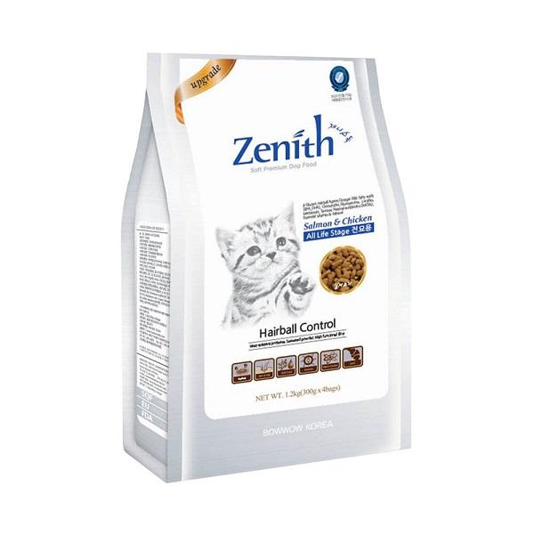 Thức ăn hạt cho mèo ZENITH CAT HAIRBALL