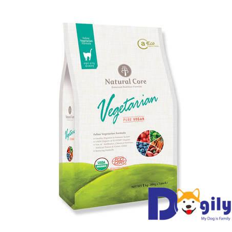 Thức ăn hữu cơ NATURAL CORE chay cho mèo