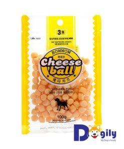 Tác dụng của Bánh thưởng Phô mai viên 100g Bánh thưởng Phô mai viên 100g làm từ 100% phô mai nguyên chất, giàu protein và canxi, là món ăn nhẹ bổ dưỡng cho các chú chó.