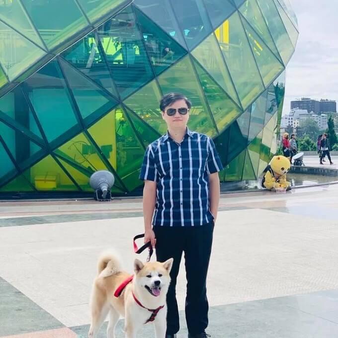 Mr Phạm Hoàng Long - CEO & Founder của Dogily Petshop.