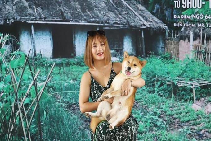 Chú chó Nhật thuần chủng gây tranh cãi nhiều khi nhập vai cậu Vàng