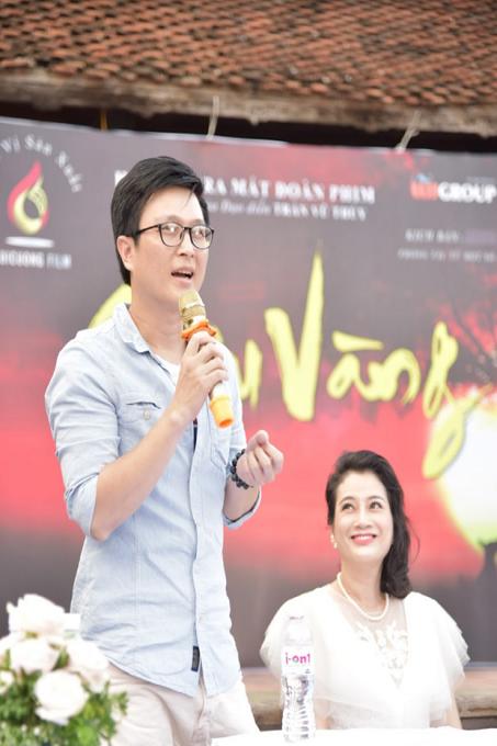 Diễn viên Trần Lê Nam vai giáo thứ