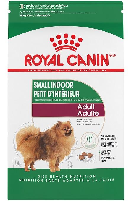 Thức ăn hạt Royal Canin cho chó Pomeranian.