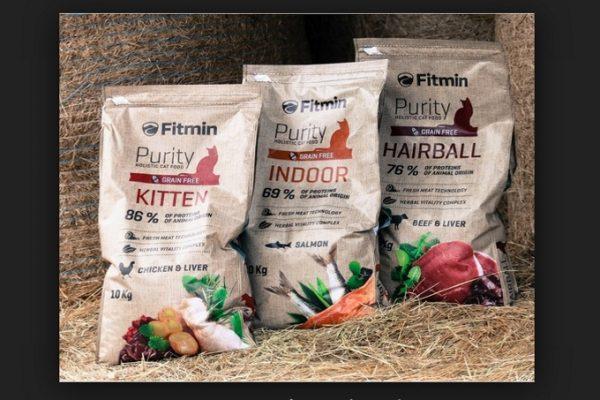 Thức ăn cho mèo Fitmin Purity Kitten