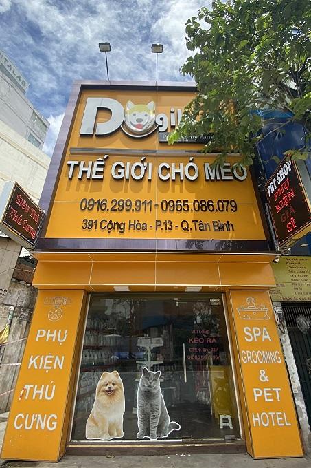 Dogily Petshop Cộng Hòa - 391 đường Cộng Hòa, phường 13, quận Tân Bình, Tp Hcm.