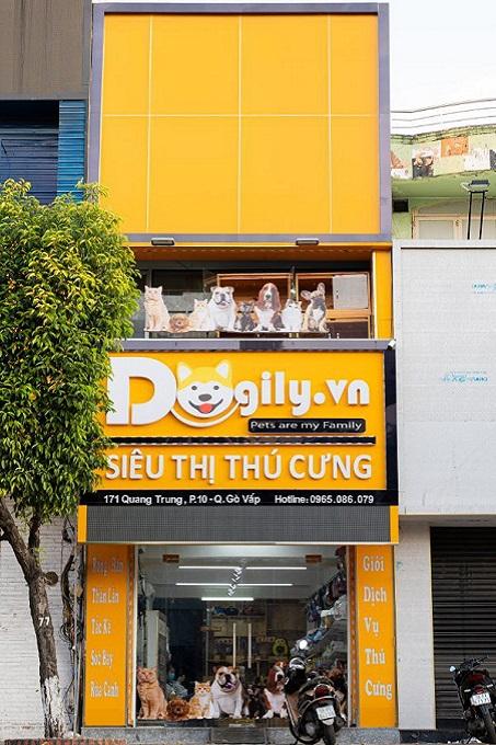 Siêu thị thú cưng Dogily Petshop Quang Trung.