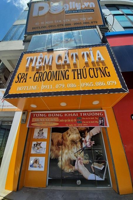 Dogily Petshop 81 Nghi Tàm, phường Yên Phụ, quận Tây Hồ, Tp Hà Nội.