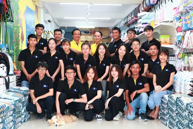 Đội ngũ nhân sự Dogily Petshop